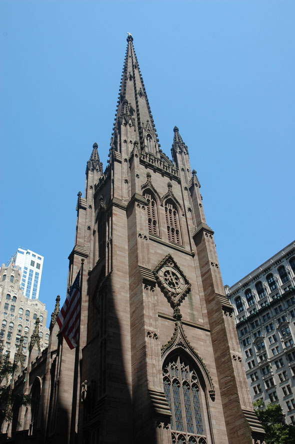 1846 – Trinity Church, Wall Street, New York