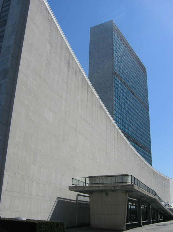 1952 &#8211; United Nations Building, New York