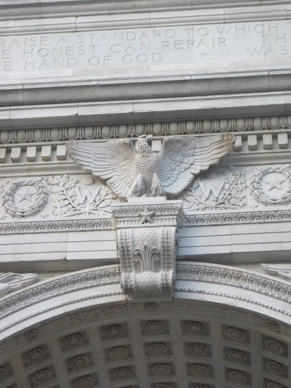 1892 – Memorial Arch, Washington Square, New York