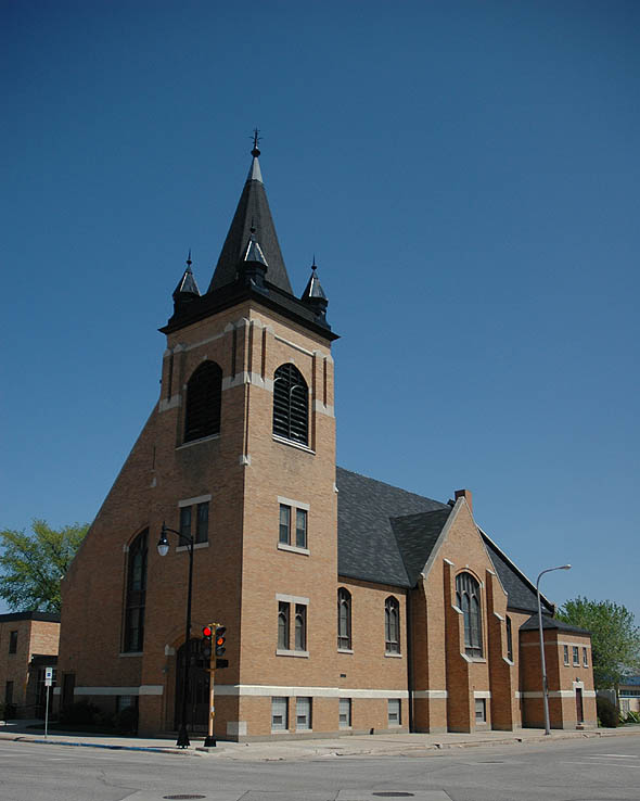 1917 – Pontoppidan Lutheran Church, Fargo, North Dakota