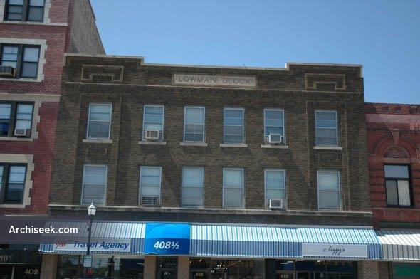 1914 – Lowman Block, Fargo, North Dakota