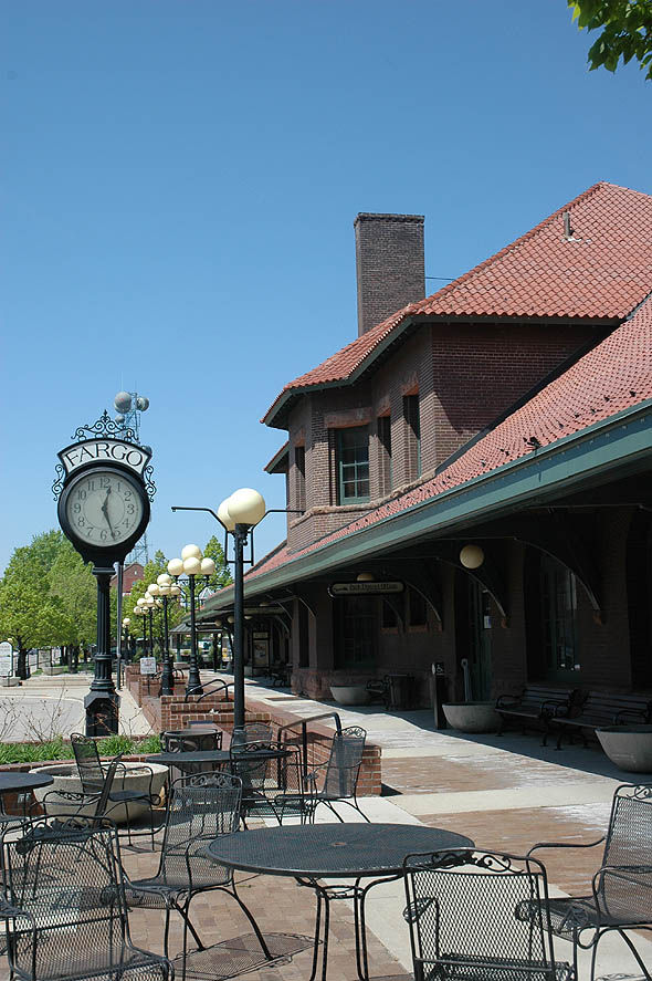 1900 &#8211; Northern Pacific Railroad Depot, Fargo, North Dakota