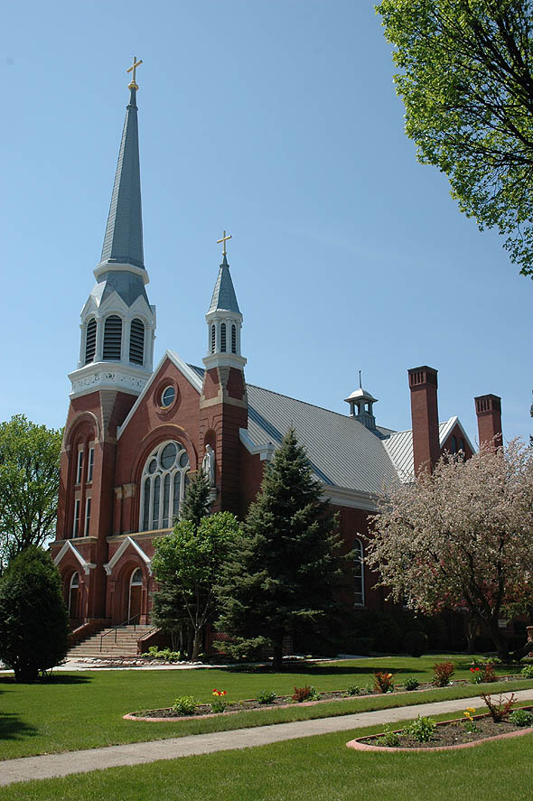 1899 &#8211; St. Mary&#8217;s Cathedral, Fargo, North Dakota
