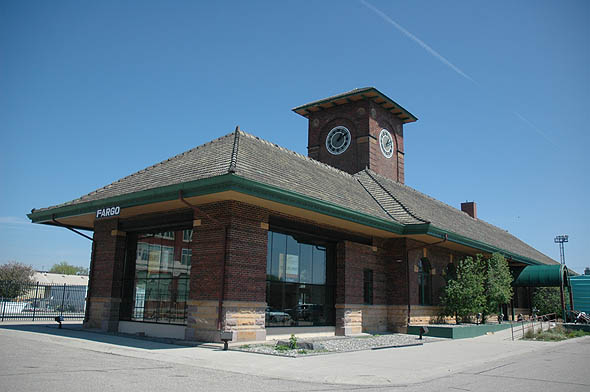 1906 &#8211; Great Northern Depot, Fargo, North Dakota