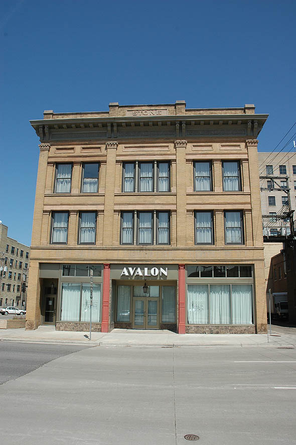 1910 – Stone Building, Fargo, North Dakota