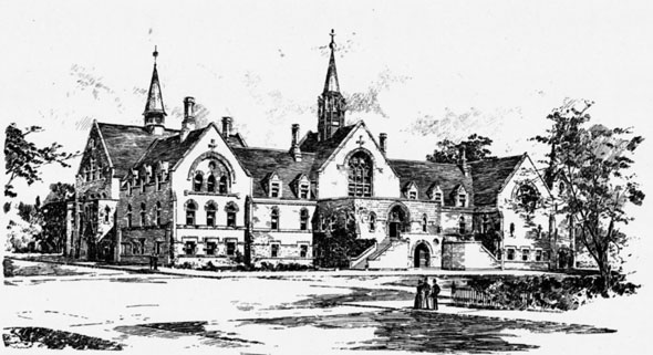 1893 &#8211; Ursuline Convent, Cleveland, Ohio