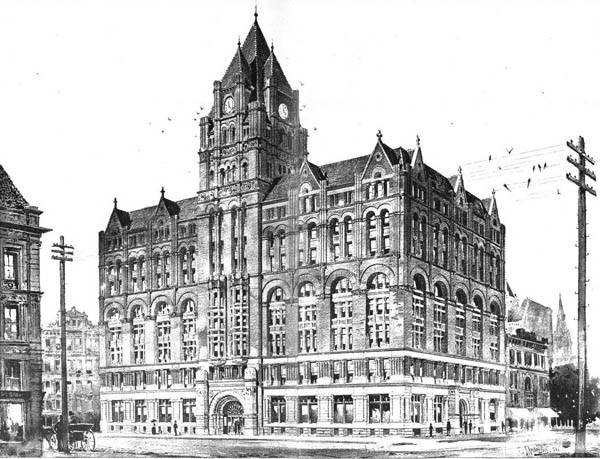 1892 – Design for Chamber of Commerce, Portland, Oregon