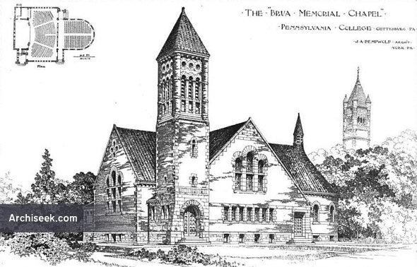 1890 – Brua Memorial Chapel, Gettysburg, Pennsylvania