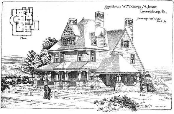 1889 &#8211; Residence, Greensburg, Pennsylvania