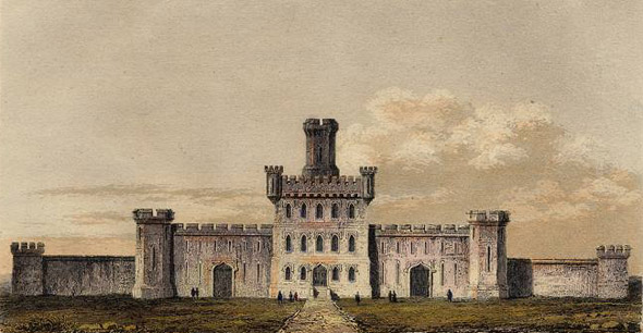 1843 &#8211; New County Prison, Philadelphia
