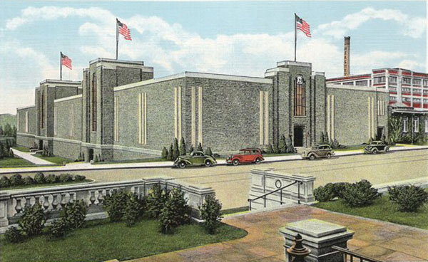 1935 – Windowless Office Building, Hershey, Pennsylvania