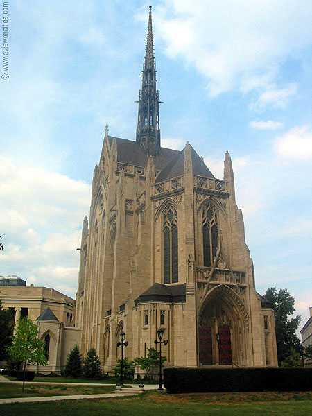 1938 – Heinz Memorial Chapel, Pittsburgh