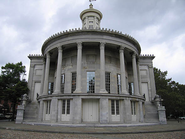 1833 &#8211; Merchant&#8217;s Exchange, Philadelphia, Pennsylvania