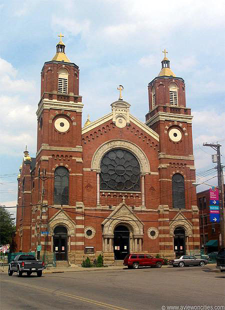 1891 – St. Stanislaus Church, Pittsburgh