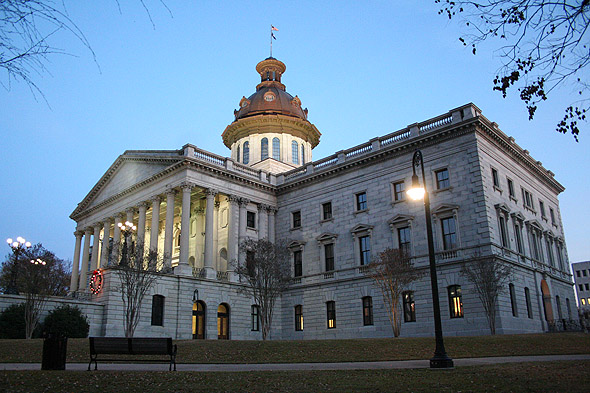 1877 &#8211; State House, Columbia, South Carolina