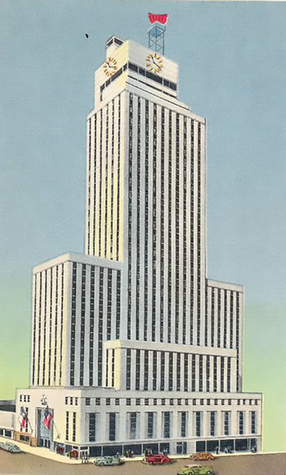 1942 – Mercantile National Bank Building, Dallas, Texas