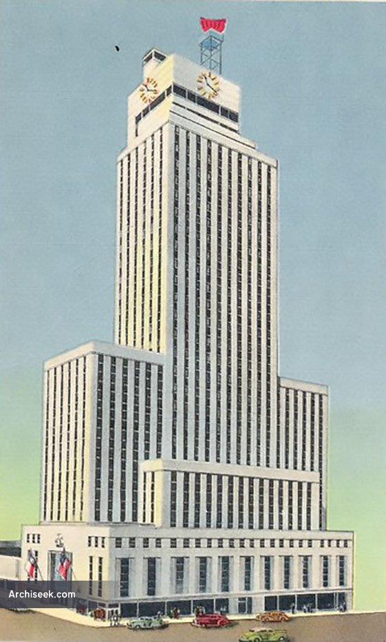 1942 – Mercantile National Bank Building, Dallas, Texas