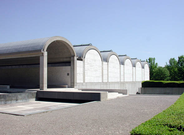 1972 – Kimbell Museum, Fort Worth, Texas