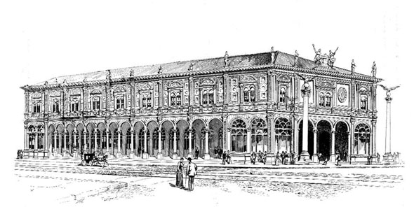 1895 – New building for New York Herald