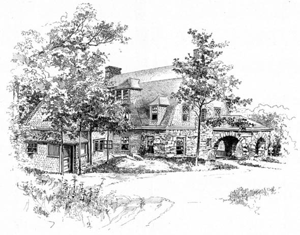 1892 &#8211; House at Bronxville, New York