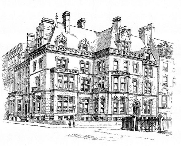 1892 – Two residences, New York