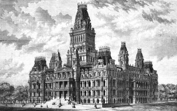 1870 &#8211; State Capitol, Albany, New York