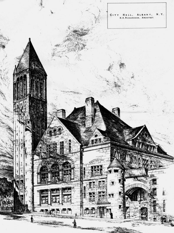 1883 – City Hall, Albany, New York
