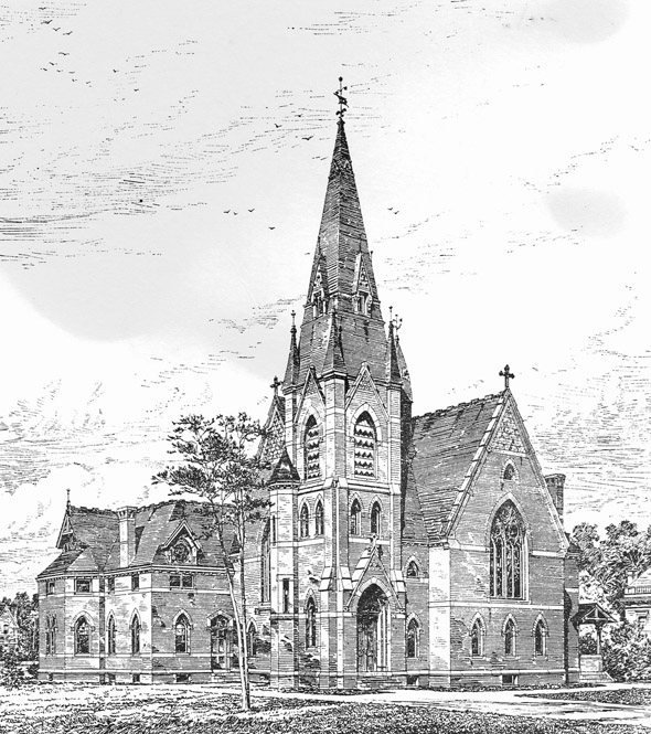 1880 &#8211; Methodist Episcopal Church, Lodi, New York