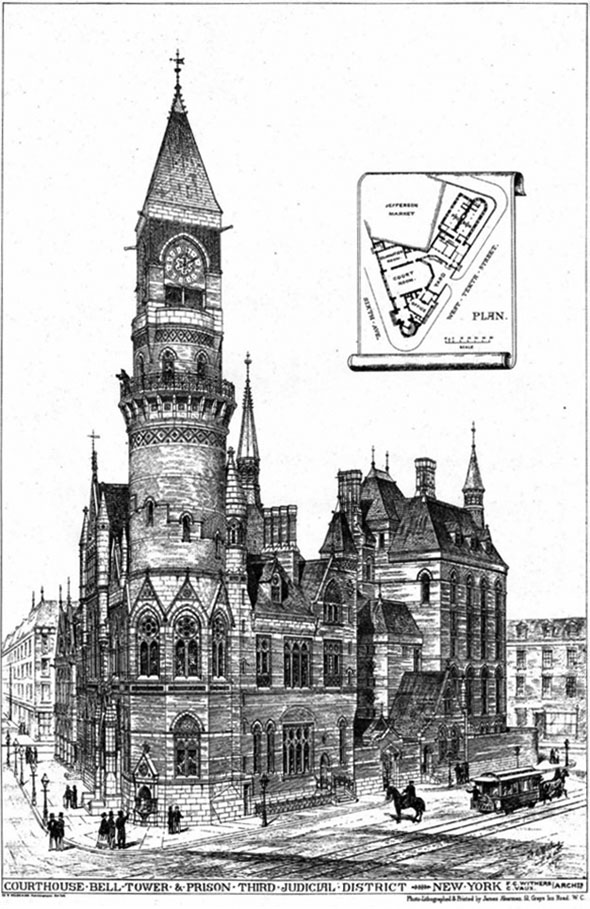 1877 – Former Jefferson Market Courthouse, New York