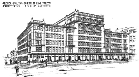 1889 – Archer Building, Rochester, New York