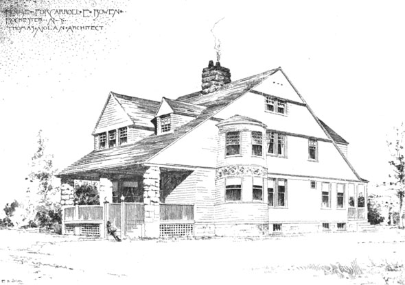 1889 &#8211; House, Rochester, New York