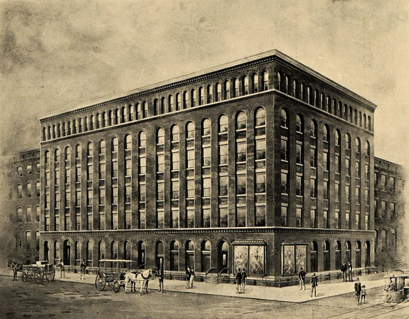 1903 – Oxley Enos Factory, W 16th St., New York