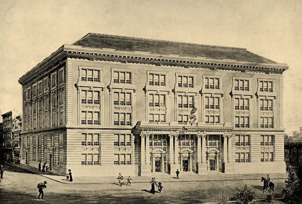 1905 – Public School 62, Hestor St., New York