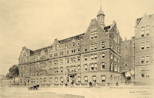 1894 &#8211; Teachers College, 120th St., New York