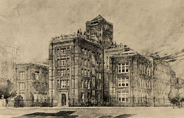 1903 &#8211; Long Island College Hospital, Brooklyn, New York