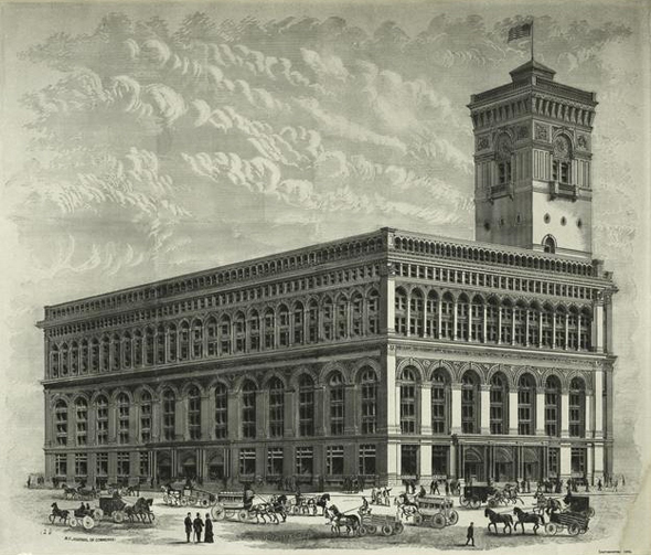 1883 – Produce Exchange, New York