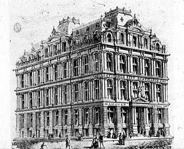 1870 – Equitable Life Assurance Building, New York
