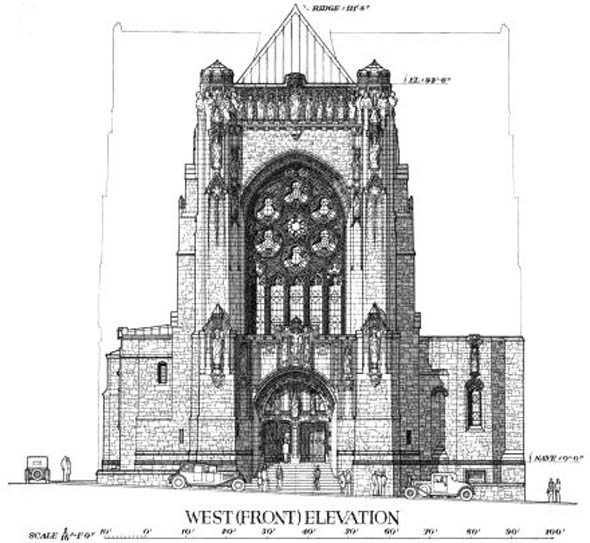1918 – St. Vincent Ferrer Church, New York