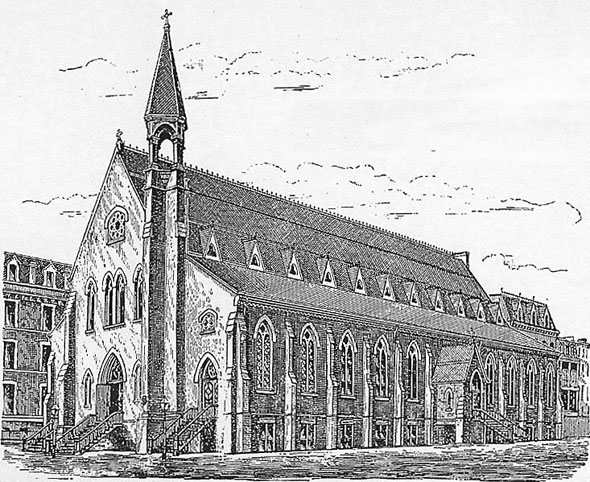 1879 – St. Vincent Ferrer Church, New York