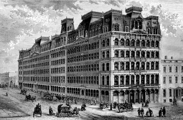 1876 – Arnold Constable & Company, 887 Broadway, New York