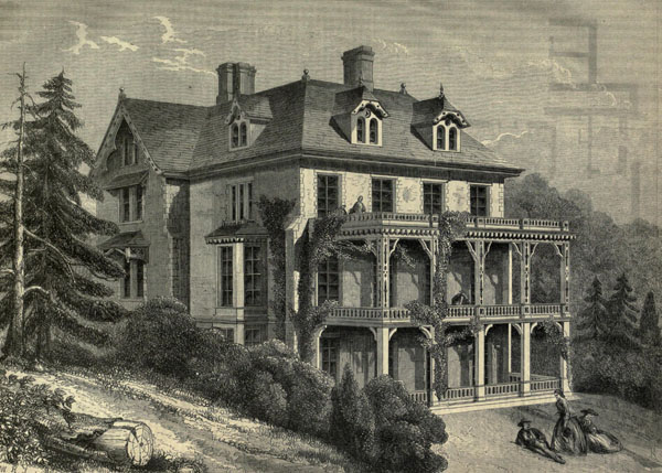 1861 &#8211; Villa, Newburgh, New York