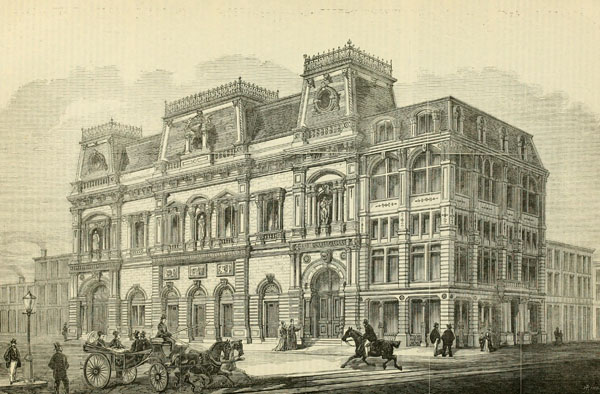 1869 &#8211; Booth&#8217;s Theatre, New York