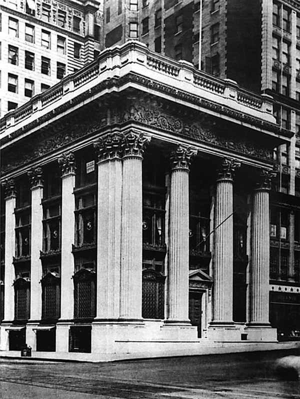 1903 – Knickerbocker Trust Co. Building, New York