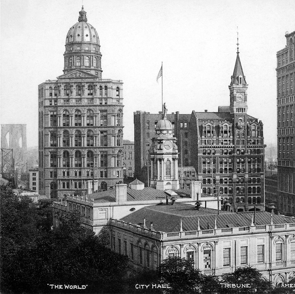 1890 &#8211; New York World Building, New York