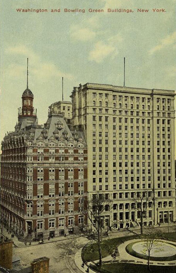 1882 – The Washington Building, New York