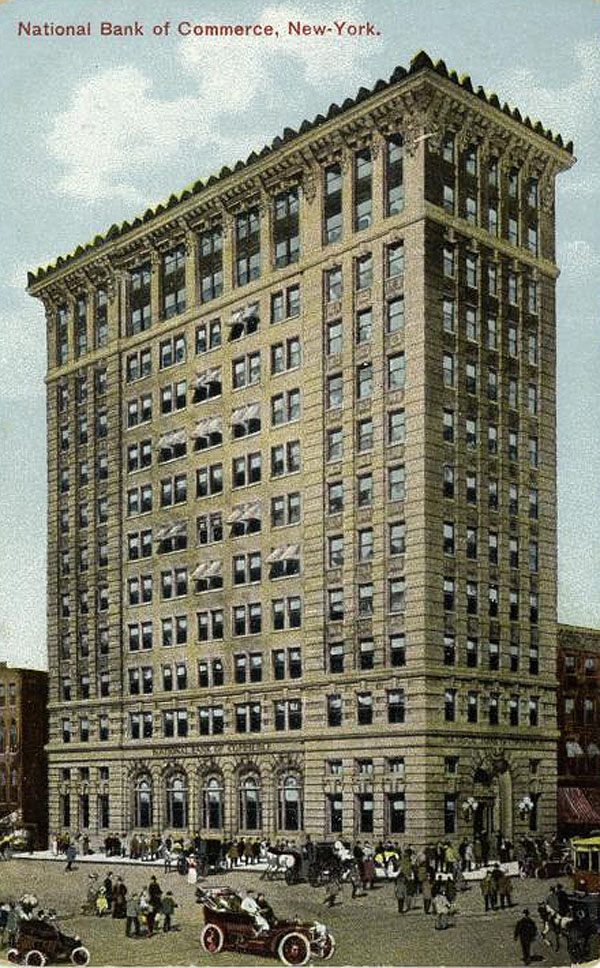 1897 – National Bank of Commerce, New York