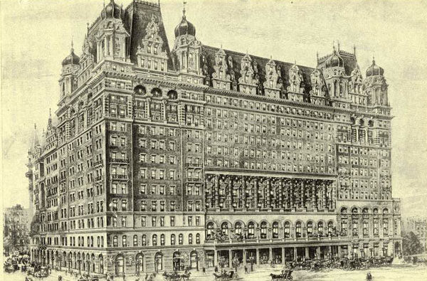 1897 – Waldorf-Astoria Hotel, New York
