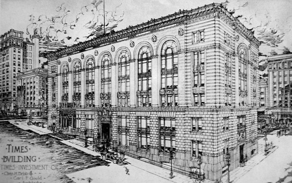 1915 &#8211; Seattle Times Building, Seattle, Washington