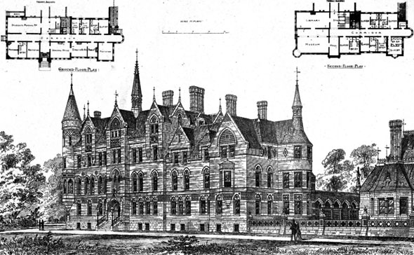 1877 &#8211; Columbia Institution for the Deaf &#038; Dumb, Washington DC