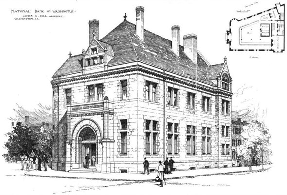 1889 – National Bank of Washington, Washington DC